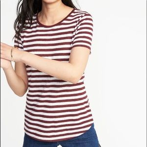 Old Navy stripey tee - NWOT